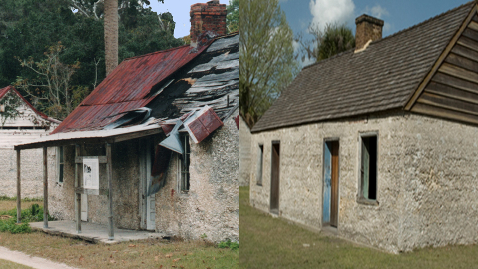 tabby cottages before and after refurbishment